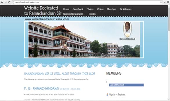TMTM Ramachandran Toshen M. Thomas